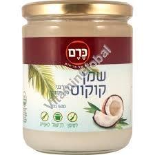 Органическое кокосовое масло холодного отжима 500 мл - Kerem