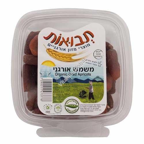 Сушеные органические абрикосы 250 гр - Tvuot
