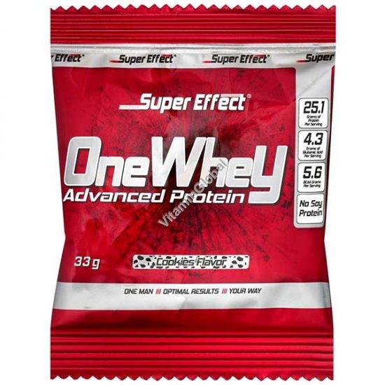 Сывороточный протеин со вкусом печенья 33 гр (1 порция) - Super Effect