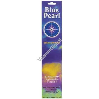 Индийские благовония желтый жасмин 10 гр - Blue Pearl