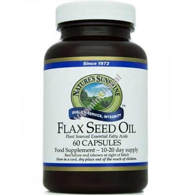 Льняное масло 60 мягких капсул - NSP