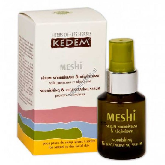 Меши - серум для питания и восстановления кожи лица 30 мл - Травы Кедем