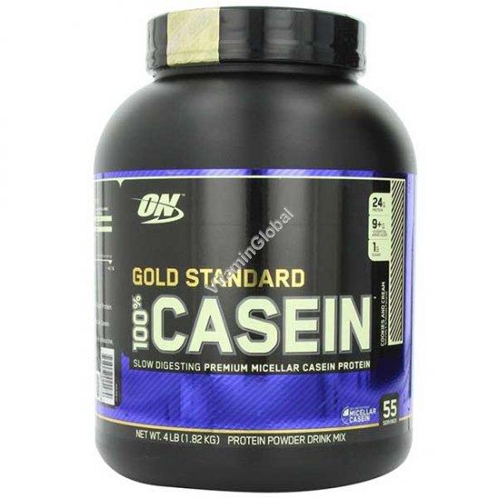 Золотой стандарт - казеиновый белок со вкусом печенье-крем 1.82 кг - Optimum Nutrition