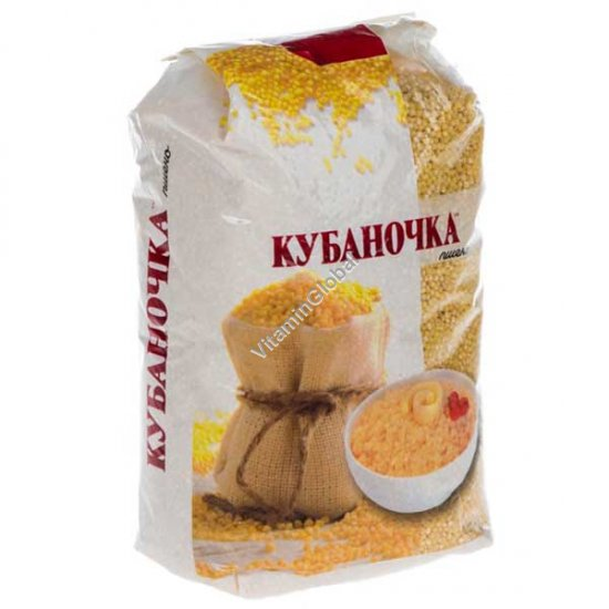 Пшено шлифованное 900 гр - Кубаночка