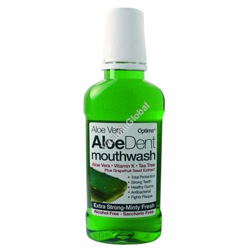 Вода для полоскания рта с алоэ вера 250 мл - AloeDent