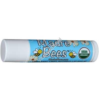 Органическая гигиеническая губная помада без аромата 4.25 гр - Madre Bees