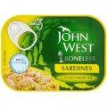 Филе сардин в подсолнечном масле 95 гр - John West