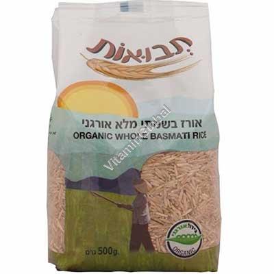 Органический коричневый рис басмати 500 гр - Tvuot