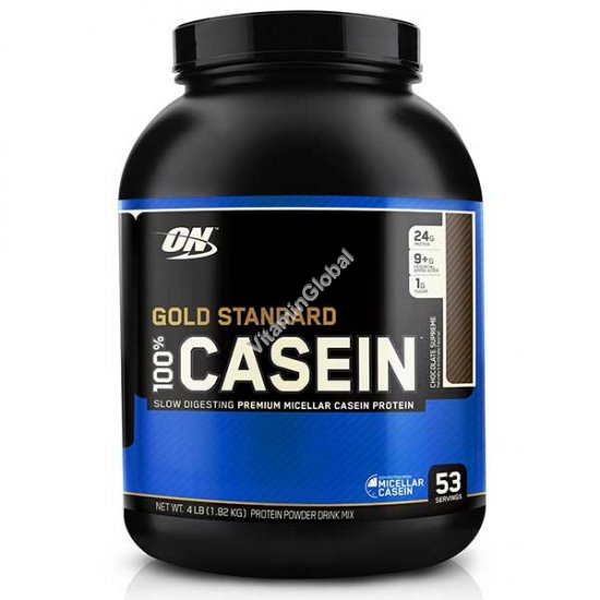 Золотой стандарт - казеиновый белок с шоколадным вкусом 1.82 кг - Optimum Nutrition