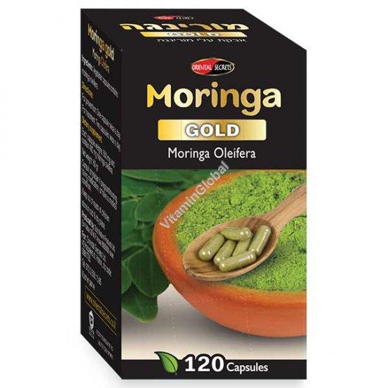 Моринга голд 120 вегетарианских капсул - Oriental Secrets
