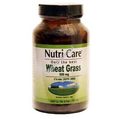 Пророщенная пшеница 500 мг. 100 капсул - Nutri Care