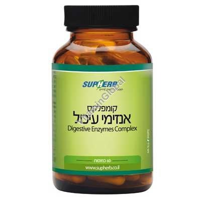 Пищеварительные ферменты 60 капсул - SupHerb