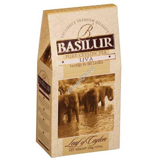 Цейлонский черный чай UVA 100 гр - Basilur