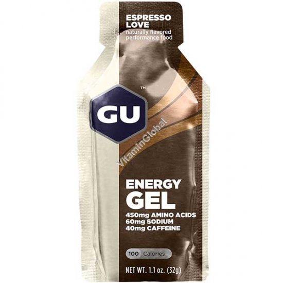Энергетический гель со вкусом кофе эспрессо 32 гр - GU