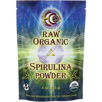 Органическая спирулина в порошке 113 гр - Earth Circle Organics
