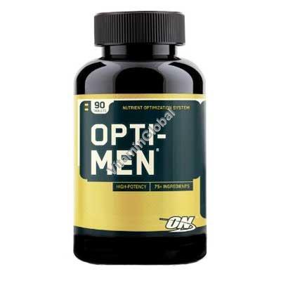 Мультивитамин для мужчин Opti-Men 90 таблеток - Optimum Nutrition