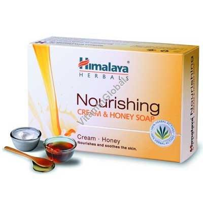 Аюроведическое сливочно-медовое мыло для нормальной кожи 70 гр - Гималая Хербалз