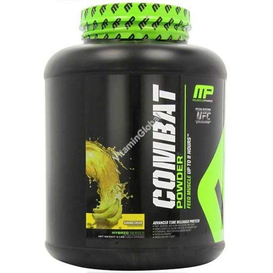Combat - протеин в порошке вкус банановый 1.814 кг - Muscle Pharm