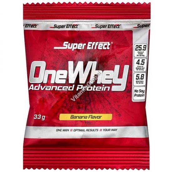 Сывороточный протеин со вкусом банана 33 гр (1 порция) - Super Effect