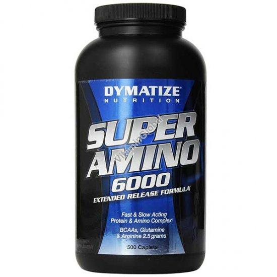 Супер Амино 6000 мг 500 таблеток - Dymatize
