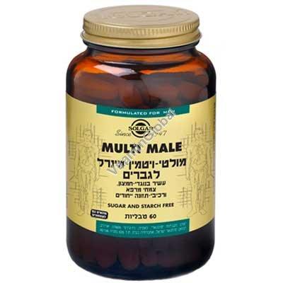 Мультивитамин для мужчин Multi Male 60 таблеток - Солгар