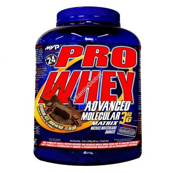 Сывороточный протеин вкус шоколад брауни 2.27 kg - MVP