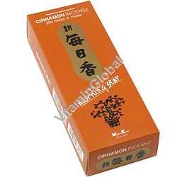 Японские благовония корица 200 шт (упаковка включает держатель) - Nippon Kodo