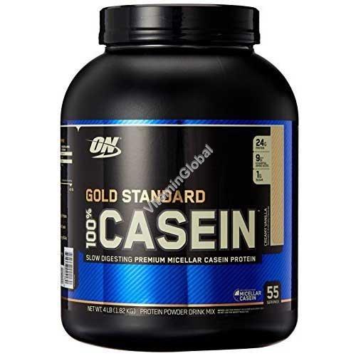 Золотой стандарт - казеиновый белок с ванильным вкусом 1.82 кг - Optimum Nutrition
