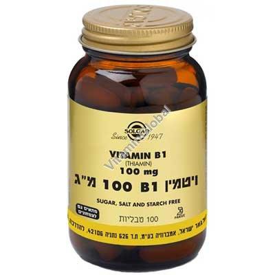 Витамин В-1 100 мг 100 капсул - Cольгар