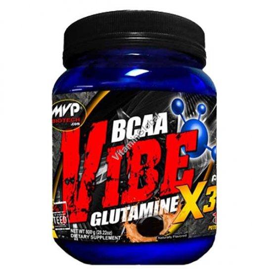 BCAA Vibe Glutamine вкус ежевики 800 гр - MVP