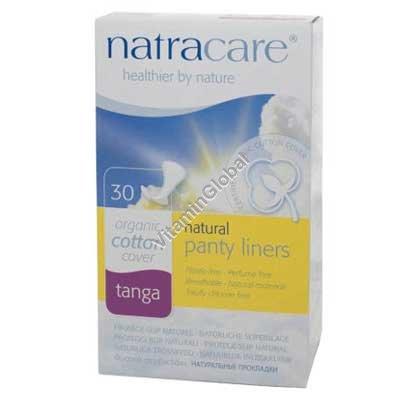 Ежедневные гигиенические прокладки для стрингов 30 шт - Natracare