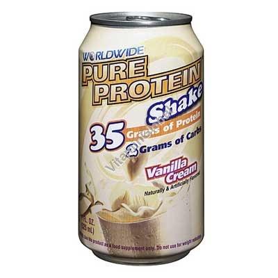 Протеиновый напиток с ванильным вкусом 325 мл - Worldwide
