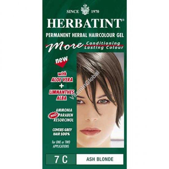 Пепельный блонд 7C - Herbatint