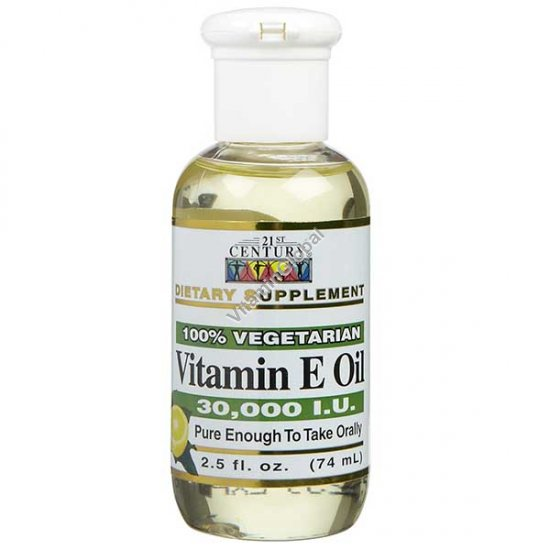 Жидкий витамин Е 74 мл - 21st Century