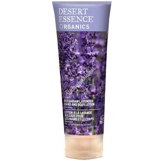 Лосьон для тела и рук с запахом болгарской лаванды 237 гр - Desert Essence