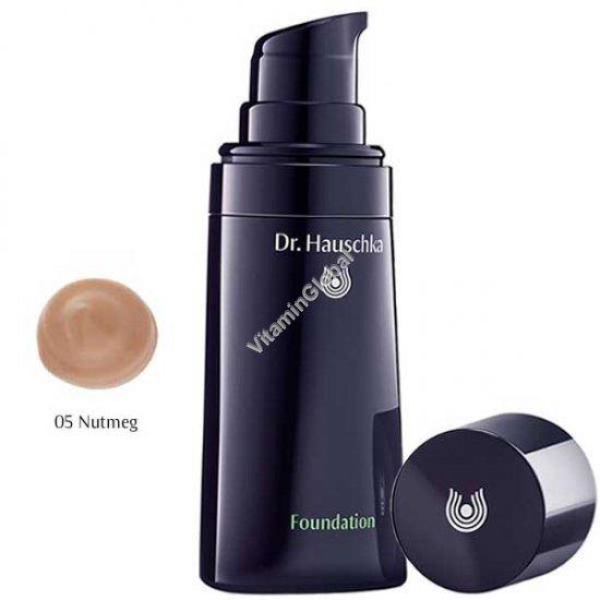 Крем тональный для кожи лица, тон 05 средне-темный (оттенок мускатного ореха) 30 мл - Доктор Хаушка