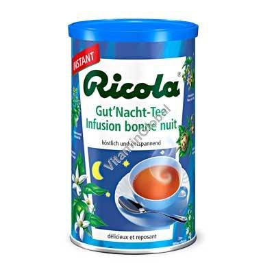 """Чай """"спокойной ночи"""" быстрорастворимый в гранулах 200 гр - Ricola"""