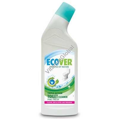 Гель для чистки унитаза с сосновым запахом 750 мл - Эковер
