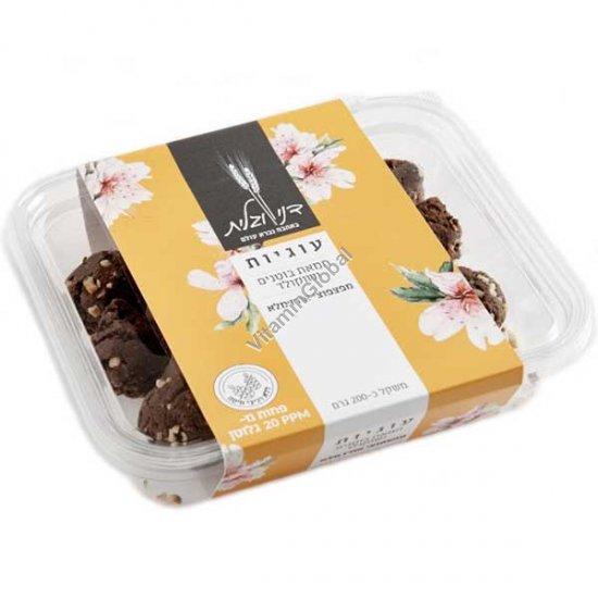 Печенье арахисовая паста с шоколадом и рисовыми хлопьями 200 гр - Дани и Галит