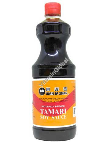Натуральный соевый соус Тамари 1 литр - Wan Ja Shan