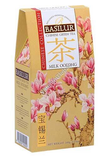 Китайский зеленый чай Молочный Улун 100 гр - Базилур