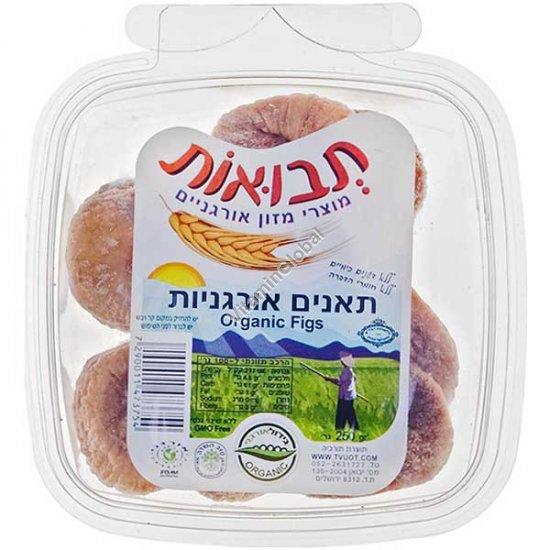Органический сушеный инжир 250 гр - Tvuot