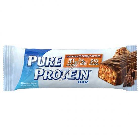 Протеиновый батончик шоколад, арахисовое масло 78 гр - Worldwide