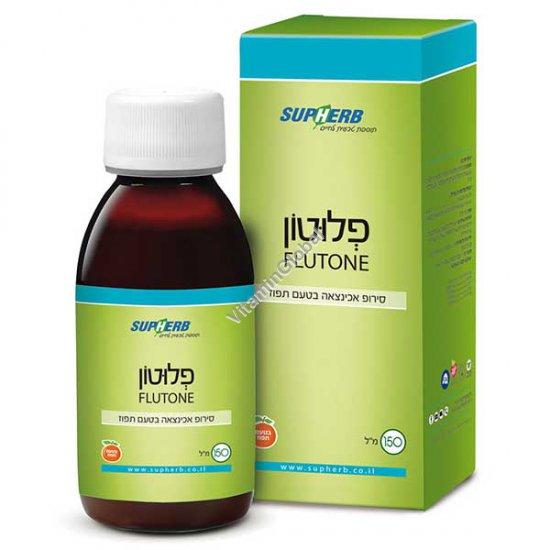 Флютон - сироп эхинацеи с апельсиновым вкусом от гриппа и простуды для взрослых и детей 150 мл - SupHerb