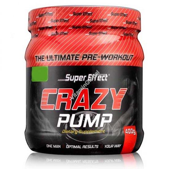 Crazy Pump предтренировочный комплекс с фруктовым вкусом 400 гр - Super Effect