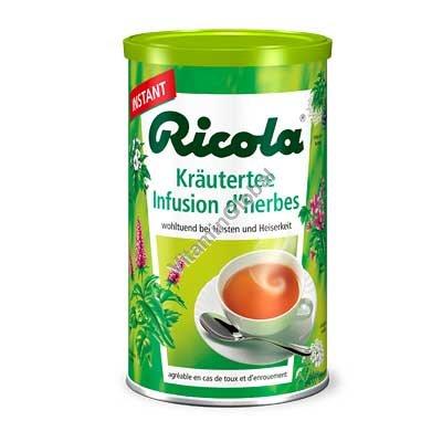 Травяной быстрорастворимый чай в гранулах 200 гр - Ricola