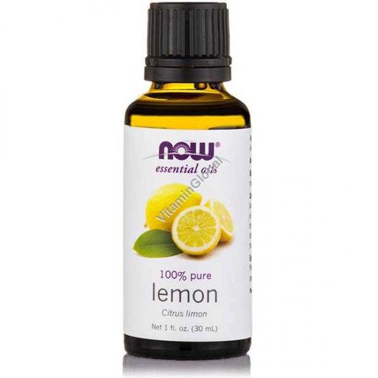 Эфирное масло лимона 30 мл - Now Foods