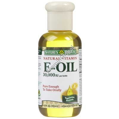 Жидкий витамин Е 74 мл - Nature\'s Bounty