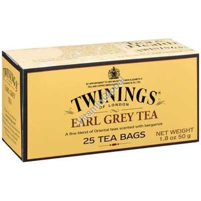 Чай эрл грей 25 пакетиков - Twinings