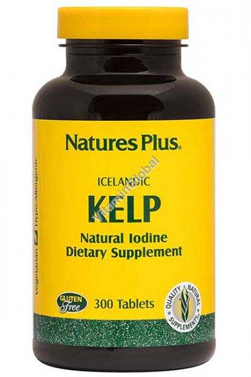 Исландская водоросль Келп 150 мкг. 300 таблеток - Nature\'s Plus